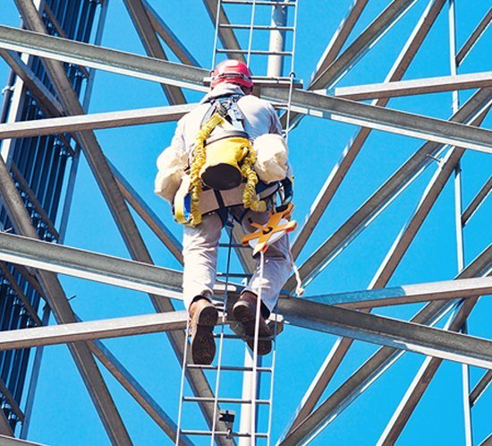 Tower climber safety video from National Association of Tower Erectors (NATE)